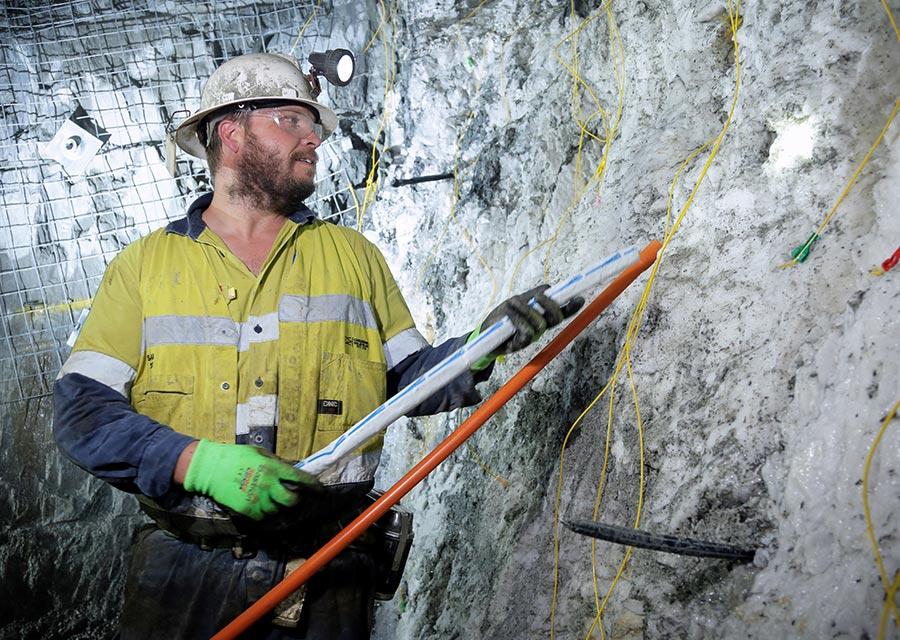 Ballarat Gold Mine Blasting