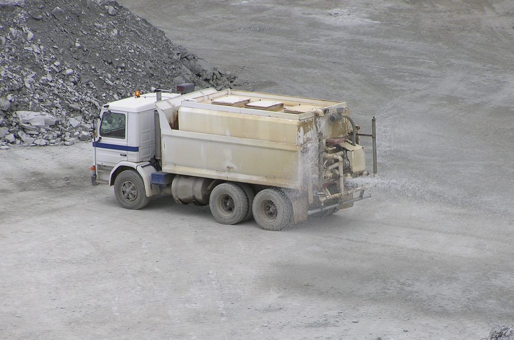 Ballarat Gold Mine Water Truck
