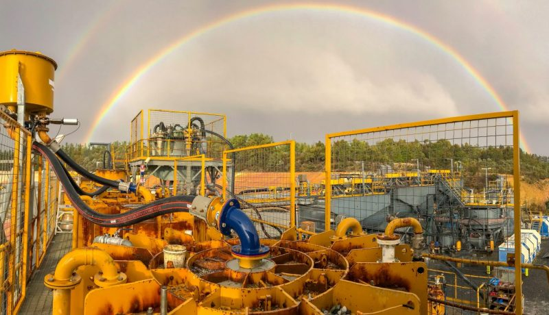 Ballarat Gold Mine Rainbow